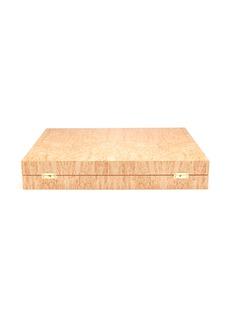 Alexandra Llewellyn Cigar masur birch backgammon set
