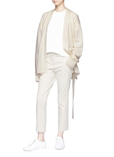 Ms MIN Belted cashmere cardigan