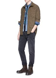 Scotch & Soda Paisley print poplin shirt jacket