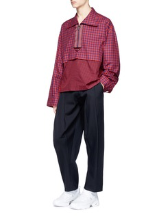 Staffonly 'Granada' pleated wool twill pants