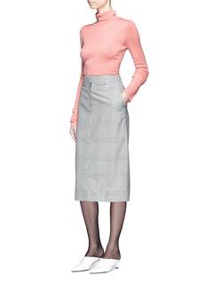Tibi 'Clare' rib knit turtleneck sweater