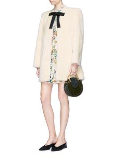 Chloé Lambskin shearling coat