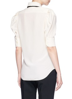 Chloé Pussybow silk crepe top