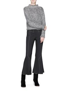 ELLERY Vaporize金属感仿马海毛针织衫