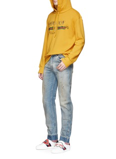 Gucci Slogan print hoodie