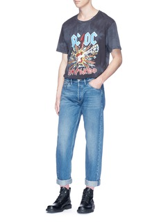 Gucci 'AC/DC' print tie-dye T-shirt