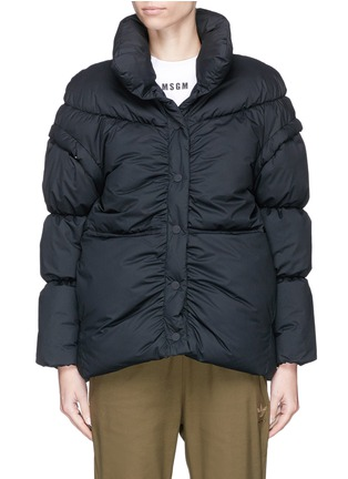 Main View - Click To Enlarge - PHVLO - Detachable sleeve rainproof puffer jacket