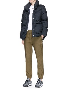 PHVLO Detachable sleeve rainproof puffer jacket