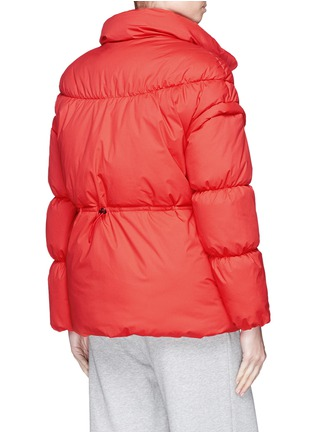 Back View - Click To Enlarge - PHVLO - Detachable sleeve rainproof puffer jacket