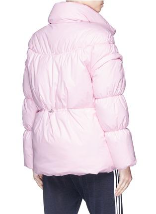Back View - Click To Enlarge - PHVLO - Detachable sleeve rainproof puffer jacket