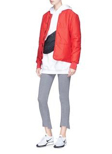 PHVLO Detachable zip pouch rainproof padded jacket