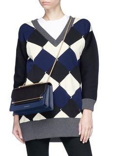 Strathberry 'East/West' colourblock leather crossbody bag