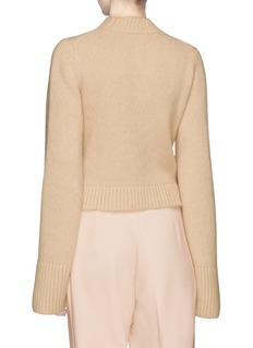 Khaite 'Mirren' wide sleeve cashmere sweater