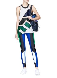 P.E Nation 'Riseball' colourblock performance leggings