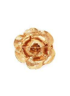 Oscar de la Renta 'Gardenia' brooch