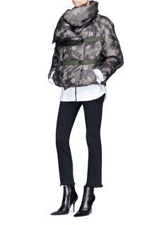 Dawei Camouflage puffer jacket