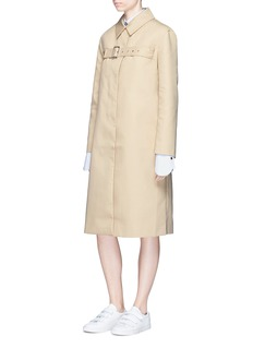 Shushu/Tong Belted chest canvas long coat