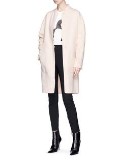 rag & bone 'Darwen' reversible wool-cashmere melton coat