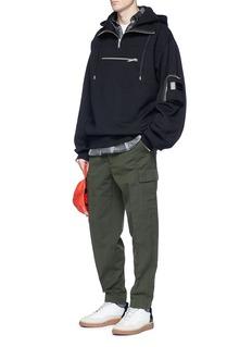Public School 'Heron' front zip pocket hoodie