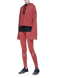 Alala 'Seamless' perforated stripe performance leggings