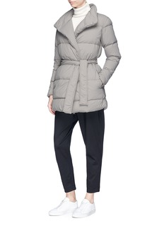 James Perse 'Y/osemite' belted down puffer jacket
