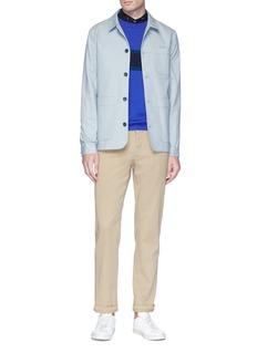 Paul Smith Stripe panel cashmere sweater