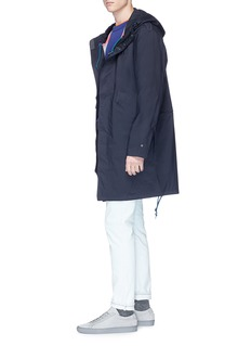 PS by Paul Smith Waterproof hooded jacket