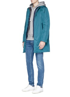 PS by Paul Smith Packable padded mac jacket