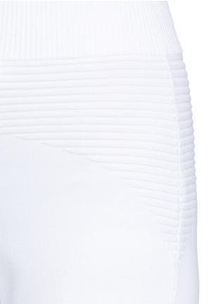 Detail View - Click To Enlarge - Live The Process - Rib knit panel sweatpants