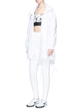 Figure View - Click To Enlarge - Live The Process - Rib knit panel sweatpants