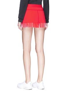 Monreal London 'Player' pleated performance mini skirt
