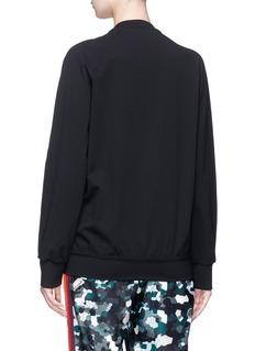 No Ka'Oi 'Nalani' stripe camouflage print track jacket