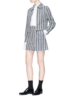 Thom Browne 'No Dress' patch poplin shirt