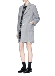 Thom Browne Penguin guipure lace mini dress