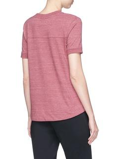 Nike 'Gym Classic' dip hem T-shirt