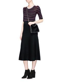Sonia Rykiel Stripe rib knit sweater