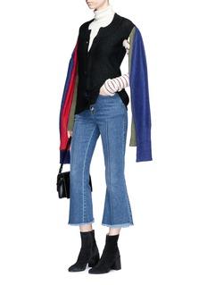 Sonia Rykiel 'Six Sleeves' mohair wool blend cardigan