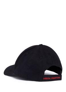 Heron PrestonCyrillic letter embroidered baseball cap