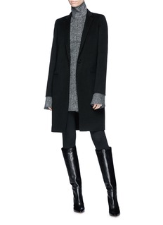 THEORY Essential Coat DF双面羊毛混羊绒大衣
