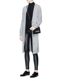 Theory Merino wool V-neck long cardigan