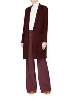 Theory 'Demitria 2' virgin wool wide leg suiting pants