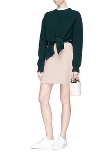Theory 'Highwaist Mini B' A-line skirt