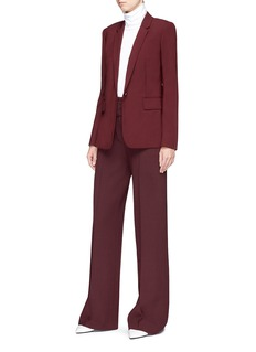 Theory HW' belted wide leg suiting pants