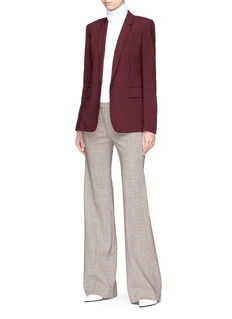 Theory 'Demitria 2' tartan plaid suiting pants