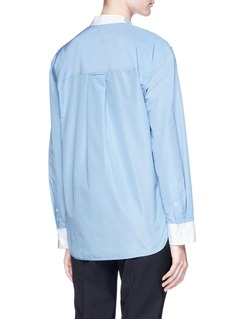 Theory Cocoon back shirt