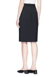 Theory 'Hemdall B' wool skirt