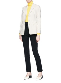 Theory 'Riding' stretch cotton suiting blazer