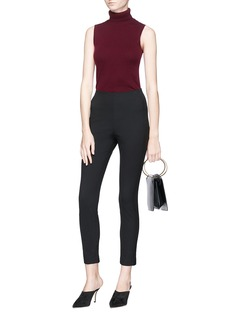 Theory 'Navalane' cropped suiting leggings