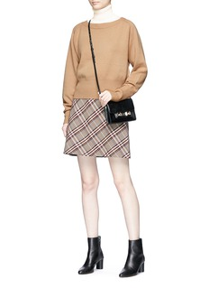Theory Cashmere turtleneck sleeveless sweater