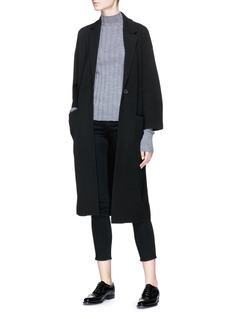 Theory 'Melisandre B' wool blend knit coat